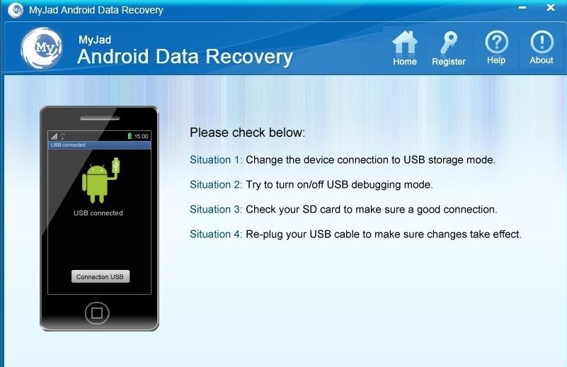 MyJad giúp phục hồi dữ liệu