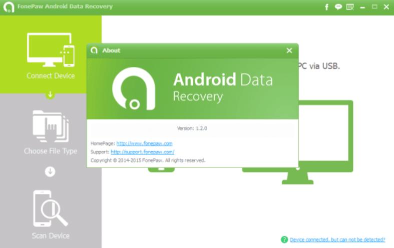 Phần mềm khôi phục dữ liệu FonePaw