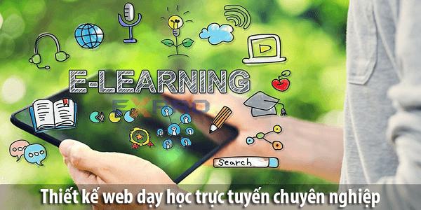 Thiết kế website dạy và học trực tuyến chuyên nghiệp