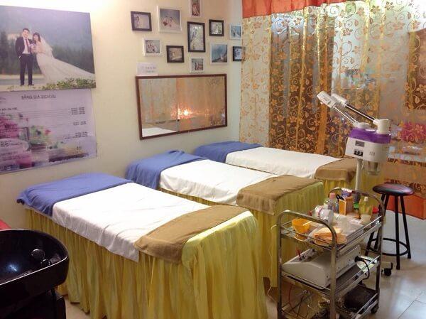 Phòng kinh doanh spa tại nhà nhỏ đẹp, chuyên nghiệp