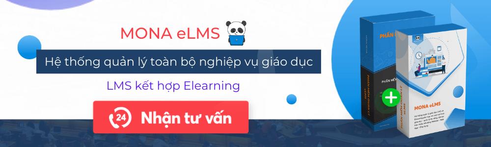 Phần mềm quản lý giáo dục Mona eLMS