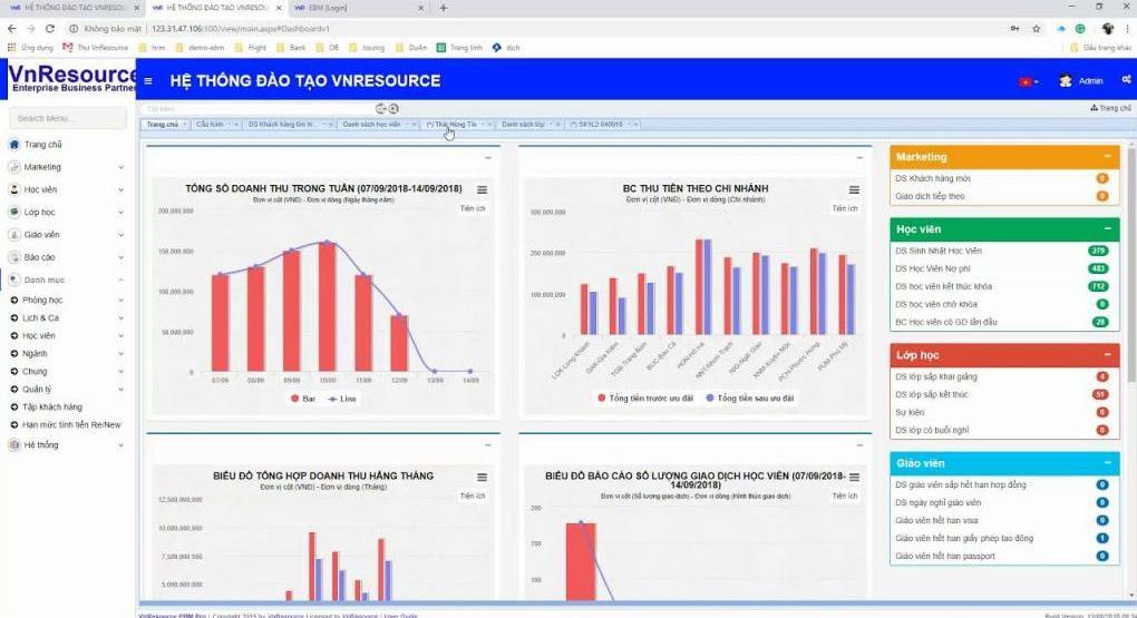 phần mềm quản lý học sinh miễn phí VnResource