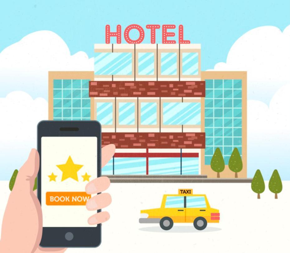 Liệt kết đặt phòng qua website khách sạn