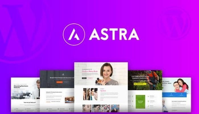 Astra – Theme WordPress giới thiệu công ty chuẩn SEO