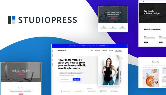 StudioPress - Theme WordPress giới thiệu công ty chuyên nghiệp nhất
