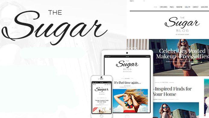 Sugar - Theme WordPress giới thiệu công ty về thời trang