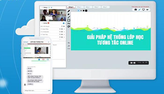 Phần mềm dạy học trực tuyến trên điện thoại Edubit