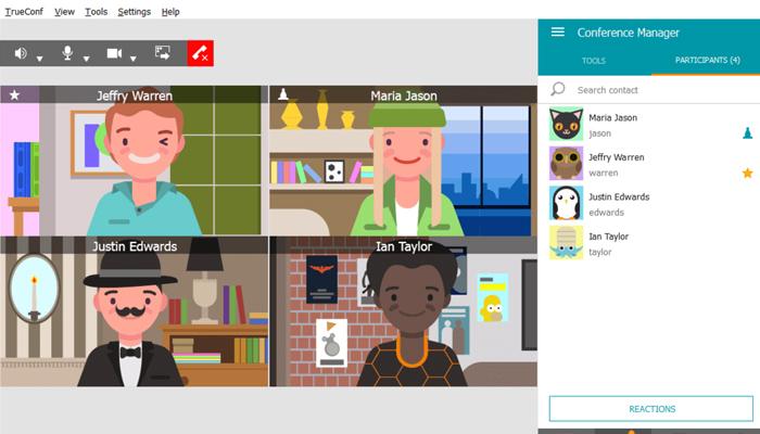 Phần mềm giảng dạy trực tuyến - TrueConf