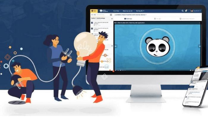 Phần mềm quản lý đào tạo, kiểm tra online - Mona eLMS